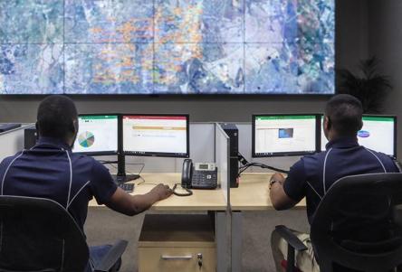 smartlock control room